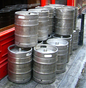 multiple kegs